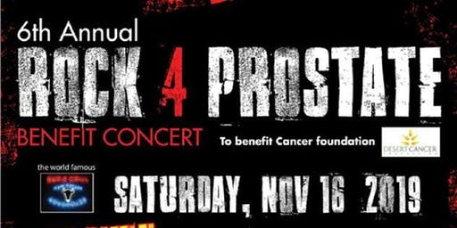6th Annual Rock 4 Prostate Benefit Concert