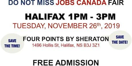 Halifax Job Fair – November 26th, 2019 tickets