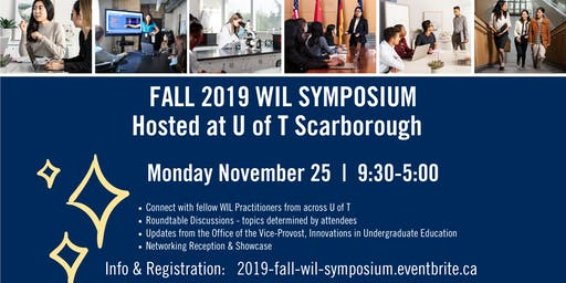 2019 Fall UofT WIL Symposium