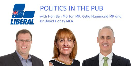 Meet Hon. Ben Morton MP, Ms. Celia Hammond MP and Dr. David Honey, MLA