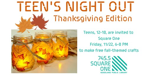 Teen's Night Out in Square One