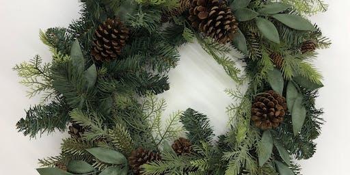 Christmas Wreath Making Workshop & Afternoon Tea