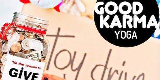 Good Karma Yoga Candlelight Yoga and Toy Drive