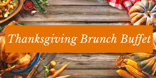 Thanksgiving Brunch Buffet