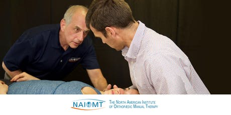 NAIOMT C-616 Cervical Spine II [Seattle/Auburn]2020 tickets