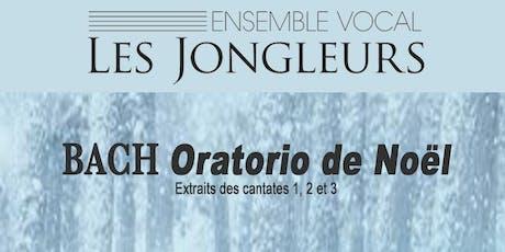 Jean-Sébastien Bach, Oratorio de Noël (extraits des cantates 1, 2 et 3) billets