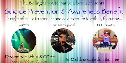 Suicide Prevention & Awareness Benefit & Dance Party