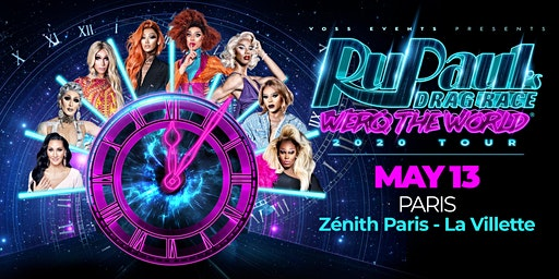 RuPaul's Drag Race Werq The World Meet & Greet (Paris)