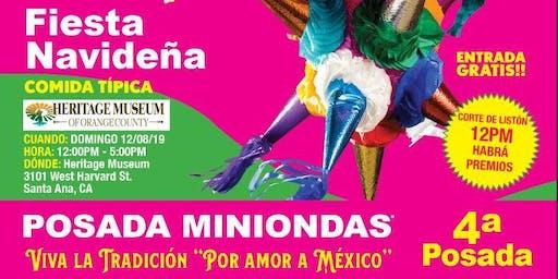 """Posada Miniondas Viva la Tradición """"Por Amor a México"""" 2019"""