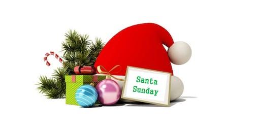 Santa Sunday at Pearland Pediatrics
