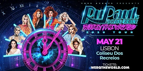 RuPaul's Drag Race Werq The World Meet & Greet (Lisbon) bilhetes