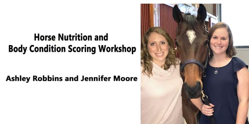 Horse Nutrition and Body Condition Scoring Workshop