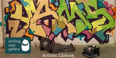 Artistic License - Epic Graffiti Art Experience (ONE NIGHT ONLY)