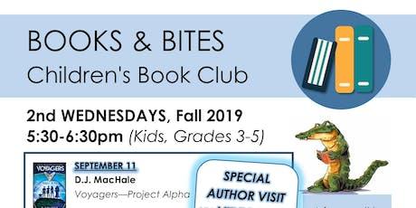 Books & Bites (Children's Book Club) tickets