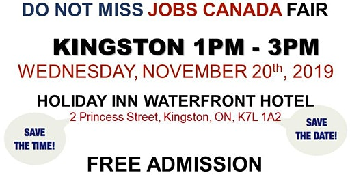 Kingston Job Fair – November 20th, 2019
