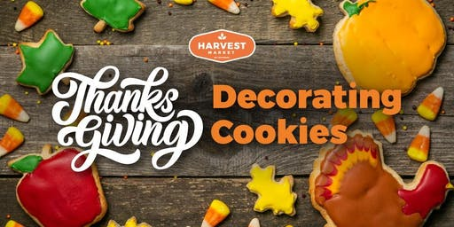 Thanksgiving Decorating Cookies!