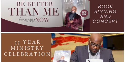 """Be Better Than Me"" Book Signing, Interview and Concert"