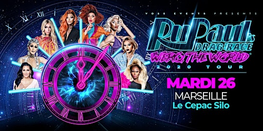 RuPaul's Drag Race Werq The World Meet & Greet (Marseille)