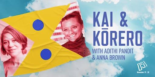 DSI Kai & Kōrero with Adithi Pandit & Anna Brown