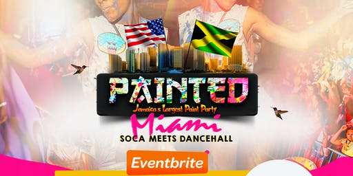 Painted Jamaica's largest paint Party: Miami