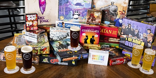Board Game Night at Common Space Brewery