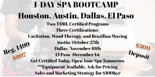 1 Day Spa Bootcamp