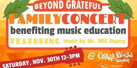 Beyond Grateful - Beyond the Grade Benefit Concert tickets