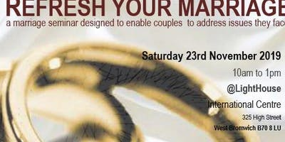 Refresh your Marriage Seminar