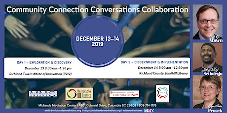 Community, Connection, Conversation and Collaboration tickets