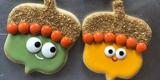 Happy Harvest Cookie Decorating Workshop for Kids & Adults