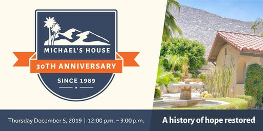 Michael's House 30th Anniversary Celebration and Open House