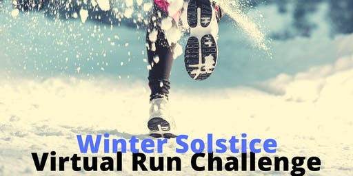 """Shortest Day"" winter solstice virtual run challenge"