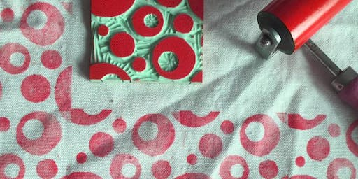 Create your own Hand Printed Table Linen
