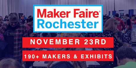 Maker Faire Rochester 2019 tickets