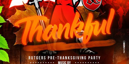 RU Thankful: The Rutgers Pre-Thanksgiving Party