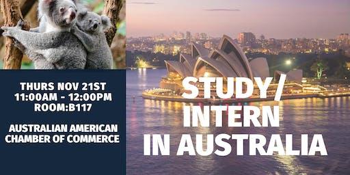 Study / Intern in Australia Event