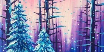 Happy Little Trees: Bob Ross Winter Wonderland