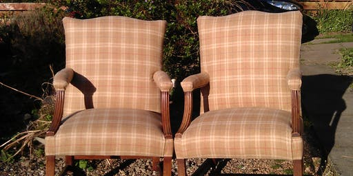 Sue Macnab's Coupar Angus Evening Upholstery Classes