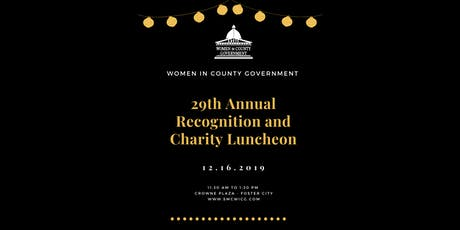2019 Women in County Government Recognition and Charity Luncheon tickets