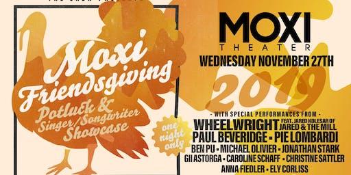 Moxi Friendsgiving Potluck & Singer-Songwriter Showcase