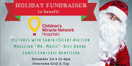 Pictures with Santa - Childrens Miracle Network Fundraiser