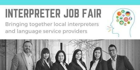 Interpreter Job Fair tickets
