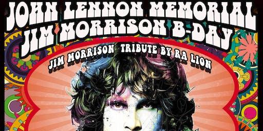A Jim Morrison B-day John Lennon Memorial Celebration Live tribute