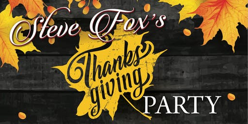 Steve Fox's Thanksgiving Party at Pavilion Grille in Boca Raton!