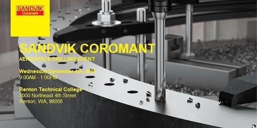 Sandvik Coromant Aerospace Drilling Event