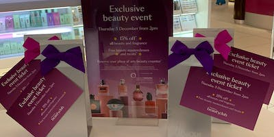 Exclusive Beauty Event