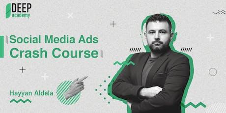 Social Media Ads | Crash Course tickets