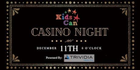 Kids Can Casino Night 2019 tickets