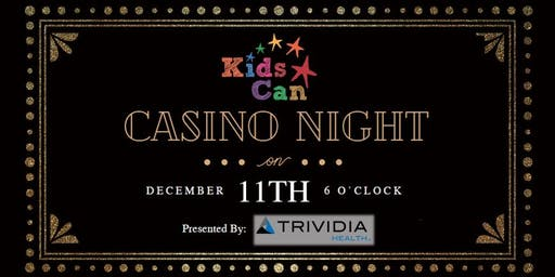 Kids Can Casino Night 2019