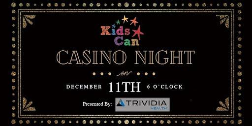 Kids Can Casino Night 2019
